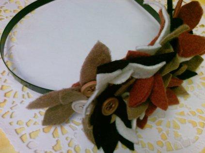 Bugün oturdum sizlere yeni renklerde çıtır çiçekli bahar taçları hazırladım. Başta çok güzel duruyor. Fotoların daha iyisini çektiğimde bunlarla değiştireceğim. Tez canlı bir kişilik olduğumdan hemen çekip koymak istiyorum bloga.  TACIN HAZIRLANMASI :   Keçeleri, 4 cm.lik kare parçalar kestim. Parçaları dört yapraklı yonca şeklinde kesip ortalarına inci yada düğme dikerek dipdibe dikerek oluşturdum. Gayet kolay, yapmak isteyenlere kolay gelsin...